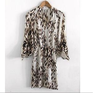 Cache dress animal print size XS
